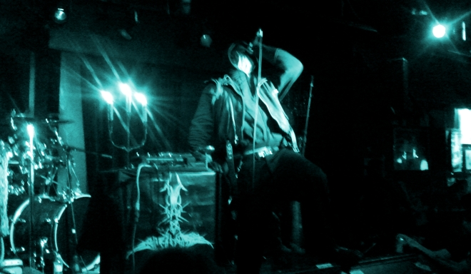 Panzerfaust, live in Vancouver at Funky Winkerbeans. 6 June 2014.
