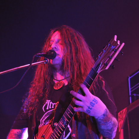 Mike Scheidt at The Rickshaw Theatre, Vancouver - March 2015. Photo credit: Shane Lange