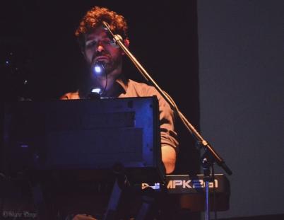 Luka Jamnik, synths (click to enlarge)