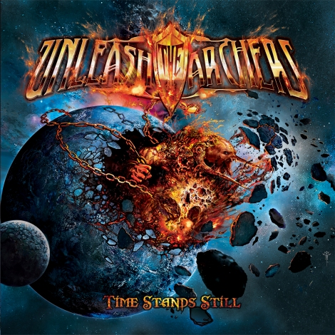 Unleash the Archers - Time Stands Still (album cover)