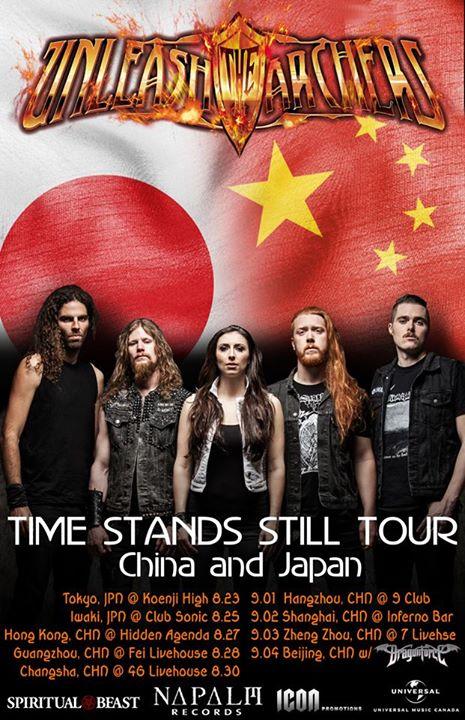 Unleash the Archers - China and Japan Tour 2015