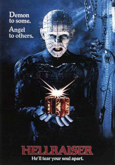 "Doug Bradley as ""Pinhead"" - Hellraiser movie poster"