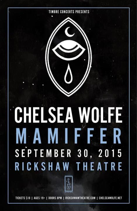 Chelsea Wolfe wsg Mamiffer