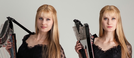 The Harp Twins, Camille and Kennerly