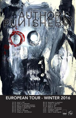 Author & Punisher European Tour, Winter 2016