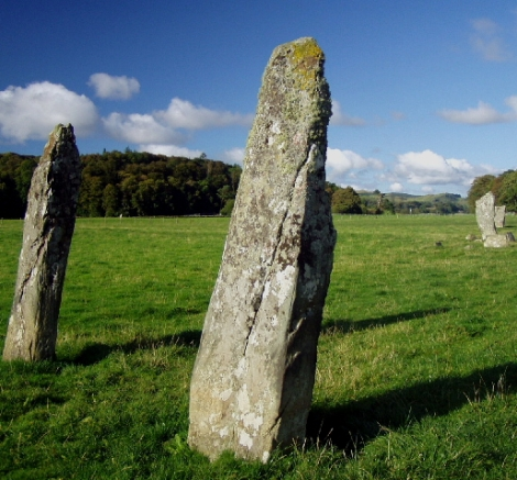 Nether Largie Standing Stones, Kilmartin (Photo Credit: Wendy Kirkwood)