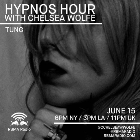 """Chelsea Wolfe's """"Hypnos Hour"""" on RBMA Radio."""