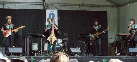 Moulettes at Vancouver Folk Music Festival