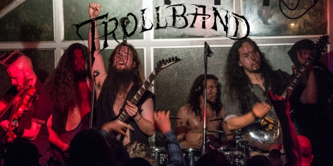 Trollband live at The Waldorf Hotel, Vancouver (12 February 2017)