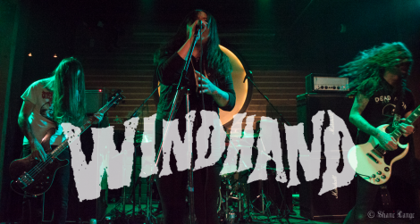 WINDHAND at Fortune Sound Club, 22 April 2017